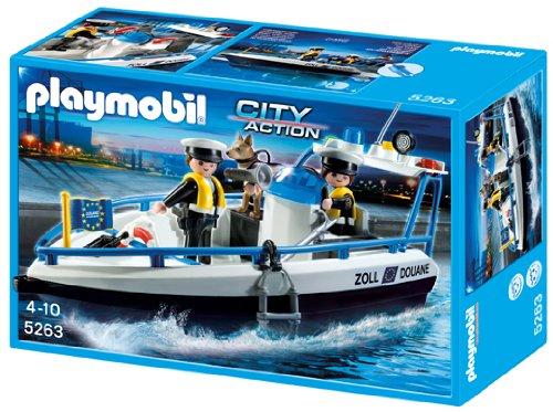 amazon co jp playmobil city action 5263 patrol boat パソコン