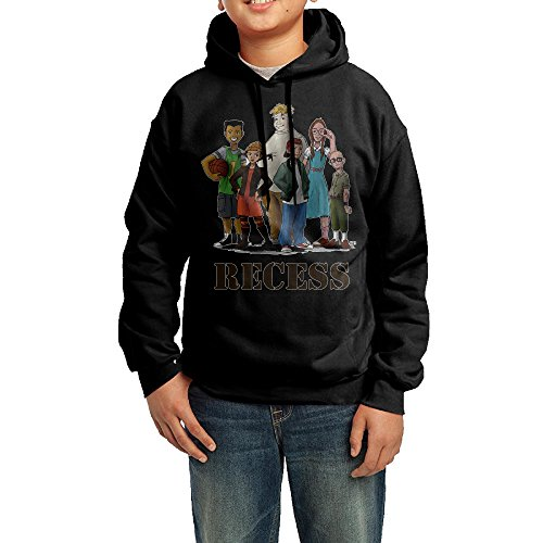 Recess American Animated Television Youth Hoodies Crazy