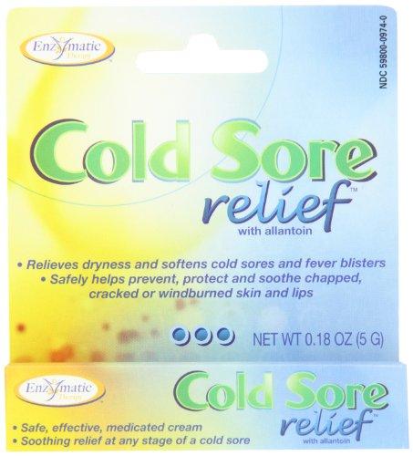 Thérapie enzymatique - Relief Cold Sore, 0,18 oz crème [Santé et beauté]