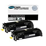 Digitoner CE505A New Compatible Black Toner Cartridge HP Replacement for LaserJet P2035, P2055, Black, 2 Count