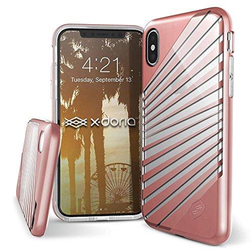 Capa Para iPhone X/XS Anti Impacto X-Doria Série Revel Lux Teste Militar Rosa, X-Doria, XD322-01, Rosa