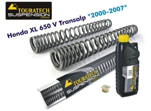 TOURATECH(ツラーテック): フロントフォークスプリング Honda XL650V Transalp(2000-2007)   B00JYNEVIG