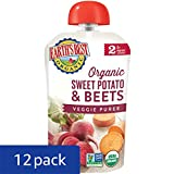 Earths Best Organic Stage 2, Sweet Potato & Beets, 3.5 Ounce (Pack of 12) (Packaging May Vary)