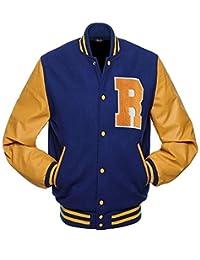 Leather Shop Riverdale Letterman Varsity Jacket   KP APA Archie Andrews Bomber Jacket