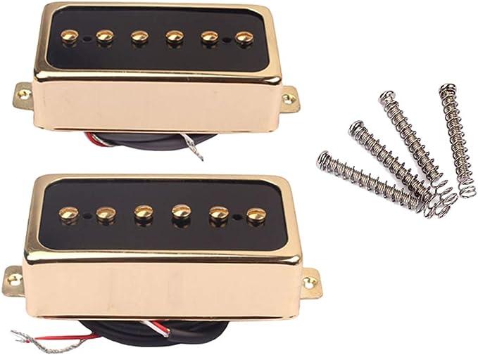 Suvox - Pastillas humbucker para guitarra eléctrica y pedal, color ...