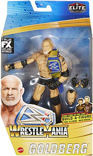 Ringside Goldberg - WWE Elite Wrestlemania 37 Mattel Toy Wrestling Action Figure