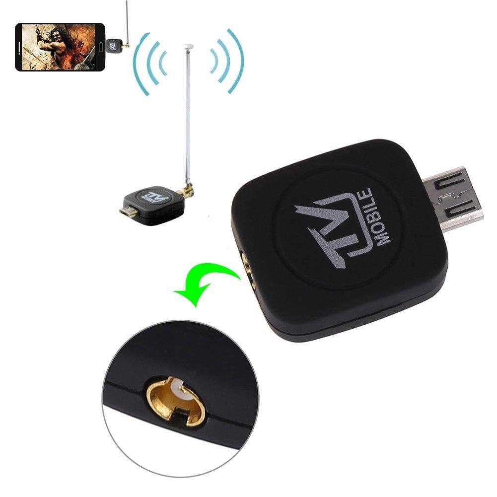 ONX3 Mini Portable Micro USB DVB-T Digital Mobile TV Tuner Receiver for Velocity Micro Cruz T408