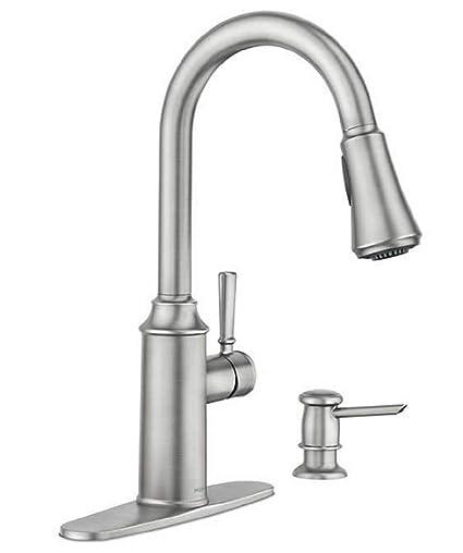 Moen Zabelle One-Handle Pulldown Kitchen Faucet - - Amazon.com