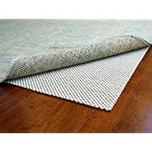 Super Lock Natural by Rug Pad USA, Rubber Non Slip Rug Pads, Gripping Open Weave Rubber Rug Pads (7x9)