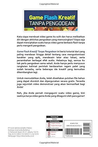 Game Flash Kreatif Tanpa Pengodean Indonesian Edition Willsen Lea 9786020297521 Amazon Com Books