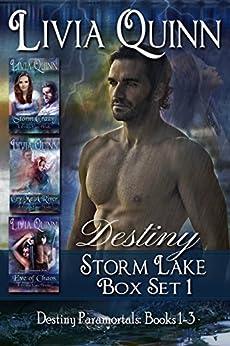 Destiny (Destiny Paramortals Box 1-3): (Paranormal Urban Fantasy) (Southern Small Town Sheriff) (Dragons Myths & Magic)(Storm Lake) by [Quinn, Livia]