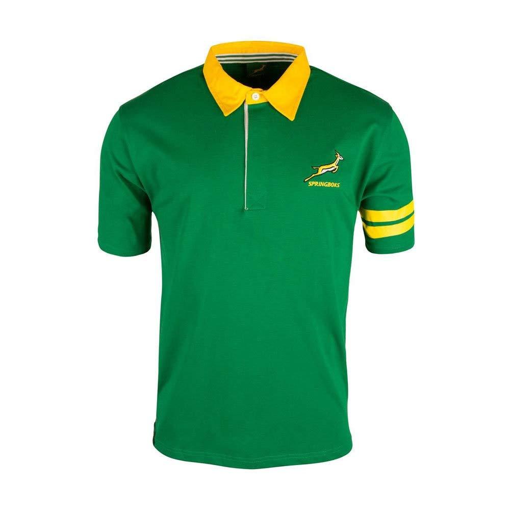 Springboks South Africa SS Rugby Jersey: Amazon.es: Deportes y ...