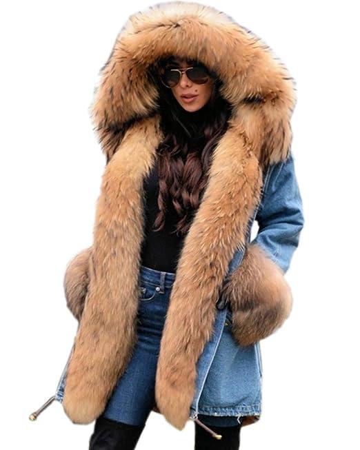 Roiii® Giacca Parka Donna: Amazon.it: Abbigliamento