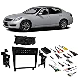 Fits Infiniti G35 2007-2008 Single or Double DIN Stereo Radio Install Dash Kit