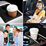 """Funny 2.56"""" Absorbent Car Coasters 2 Pack for"""
