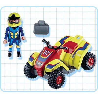 (Playmobil Quad Bike)