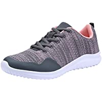 COODO Women's Fashion Sneakers Casual Mesh Sport Shoes