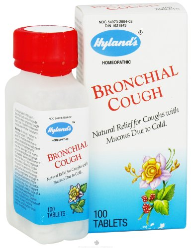 Hyland's Homeopathic Combinations Bronchial Cough Pain - Single Item