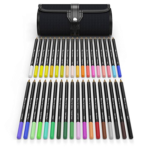 36-Piece-Colouring-Pencil-Set-Soft-Smooth-Lead-Vibrant-Colours-Perfect-For-Adult-Colouring-Books-Secret-Garden-or-Childrens-Gift
