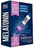 Dream Water Sleep Powder, Natural Sleep Aid, GABA, Melatonin, 5-HTP, Snoozeberry, 10 Count, Top Rated