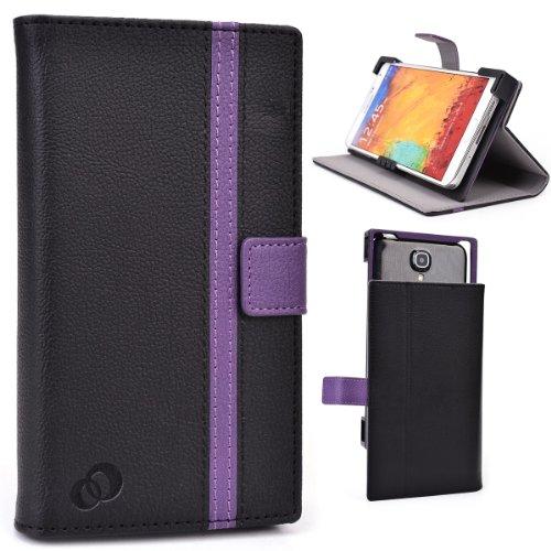 (Universal Phone Holder Stand Case For Posh Kick X511, Titan Pro/Max HD E550 5.5