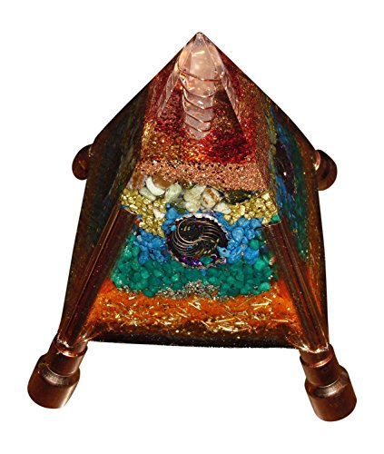Adjustable Orgone Pyramids - available in three colors (Liquid Filled Glass Pipe)