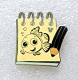 Disney's Hidden Mickey Character Sketch Pads Nemo Disney Trading Pin