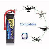 Drone Battery LiPo Battery for HM Remote Control Aircraft/Airplane RC Car Truck 3500mAh/11.1V3S25C Universal Plug