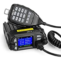 QYT KT-8900D 25W Dual Band Mini Mobile Transceiver Two-Way Radios136~174/400~480MHz Quadstandby Amateur Car Radio with Extra Speaker - Lightwish