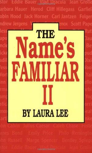 Name's Familiar II, The PDF