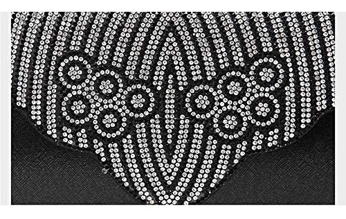 Incrusté D Luxe Main Pochette de Parti Bal Diamants 28x14cm A à Et soirée de Bridal fériés Sac Sacs de d'autres Soirée 11x6inch soirée Jours qtvxzHgIwn