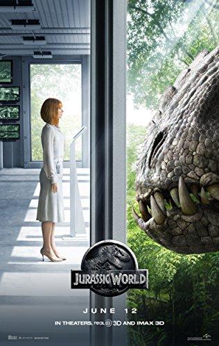 Jurassic World 2015 Movie Poster, Glossy Finish Thick: Chris Pratt, Bryce Howard Dallas