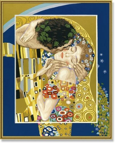 il Bacio 40x50 cm Disegnare coi numeri Schipper 9130 301
