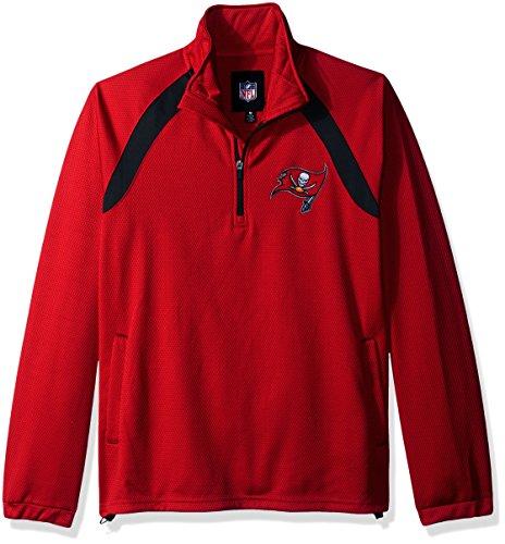 Tampa Buccaneers Bay Jacket (G-III Sports NFL Tampa Bay Buccaneers High Impact Half Zip Pullover, XX-Large, Red)