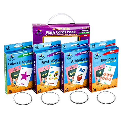 Star Right WN259 the Flash Hole-Punched So You Can Sort and Organize the Cards (Punched Shape)