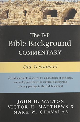 Walton ancient near eastern thought and the old testament