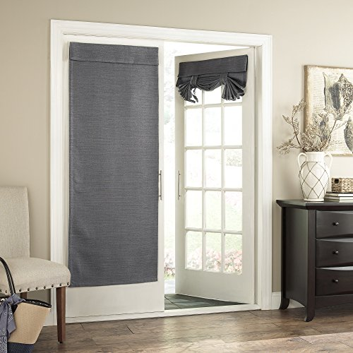 Eclipse 10576026068GRE Bryson Thermal Blackout Door Panel,Grey,26×68