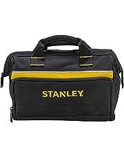 Stanley Gereedschapstas (12 inch, 30 x 25 x 13 cm, robuuste, compacte tas voor gereedschap, draagzak van 600 x 600 denier nylon, duurzame constructie) 1-93-330, gesorteerd