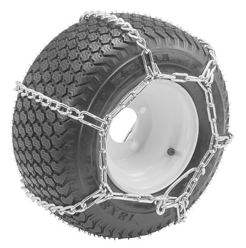Oregon 67-011 Lawn & Garden Tire Snow Chains With 4-Link Spacing Size 23X950-12 & 23X1050-12 Tire Snows
