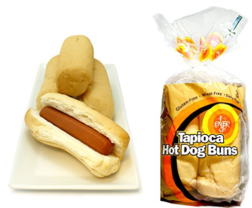 Ener-G Tapioca Hot Dog Buns - 7.76 oz (Tapioca Hot Dog Buns)