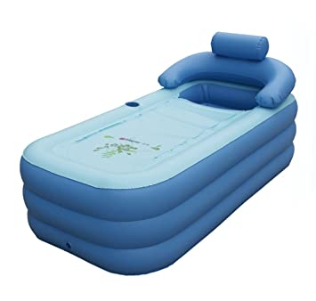 Intime Foldable Inflatable Bathtub Children dp BR