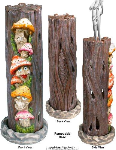 UPC 648658046812, Mushrooms Family in Alice Wonderland Smoking Tower Incense Burner-Ashcatcher By Nose Desserts Brand