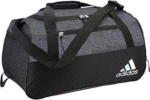 adidas Squad III Duffel Bag (Black Jersey/Black 01)