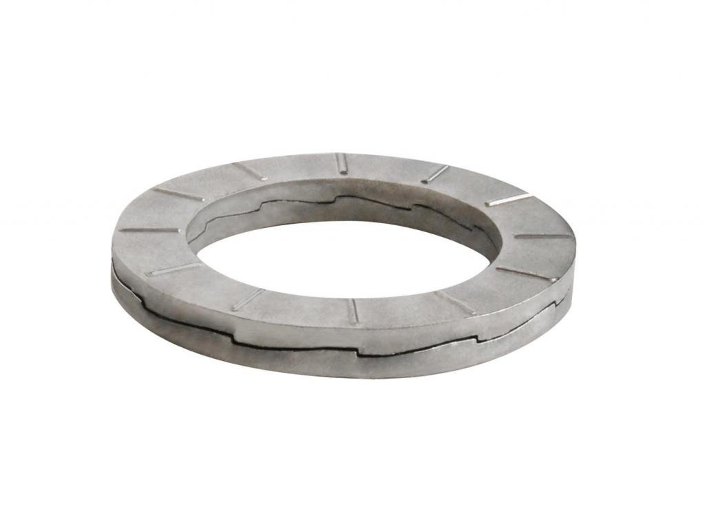 100 pk. 20mm x 35.1 mm OD Stainless Steel Plain Finish Wedge Lock Washers