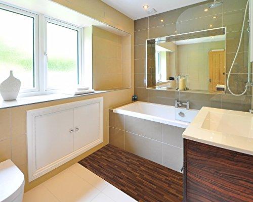 ChasBete Non-Slip Kitchen Floor Mat Slip Resistant Home Hallway Bathroom Runner Indoor Carpet Outside Door Rug Thin Cushioned Waterproof Heavy Duty Sticker(Wood Grain) by ChasBete (Image #5)