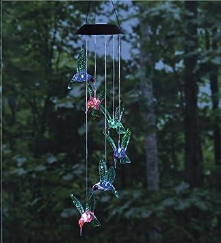 Six Hummingbird Solar Mobile