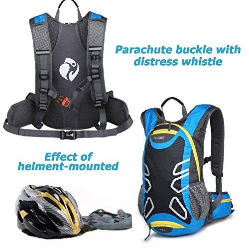 Bike Fahrrad Radfahren Rucksack Wandern Taschen, Outdoor Rucksäcke Packungen Camping Packsack Klettern Daypack für Running Sport Reise