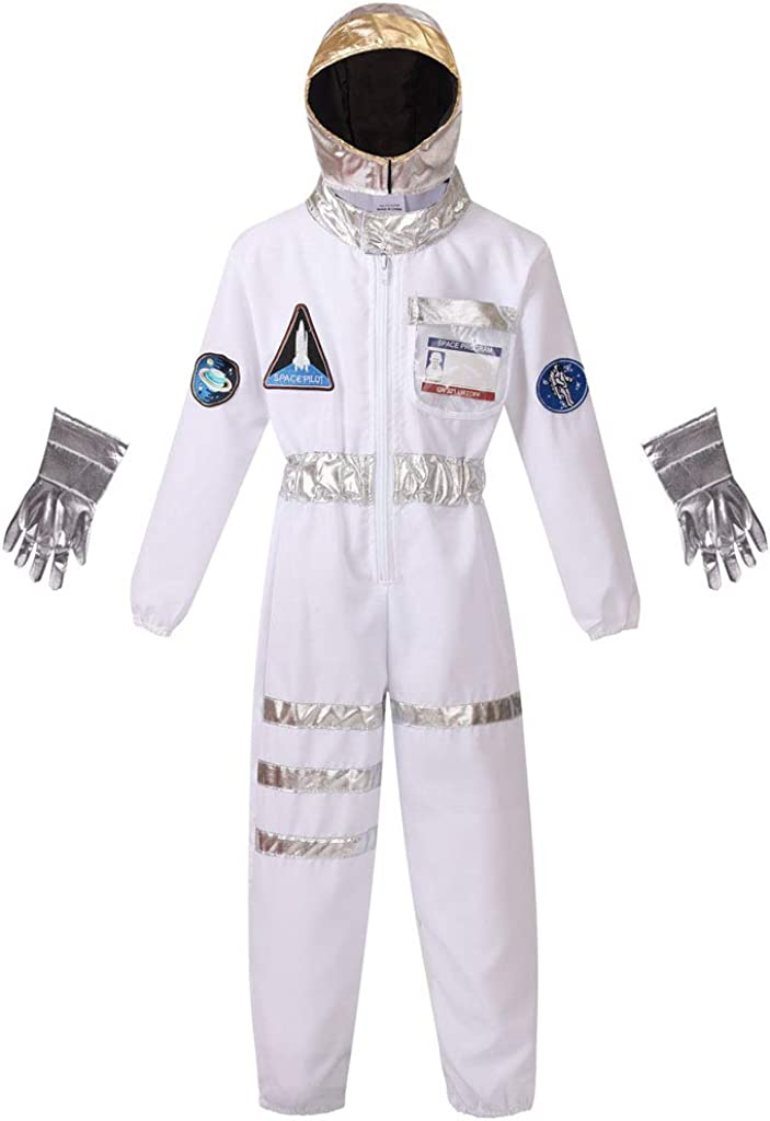 Meeyou Little Kids' Space Astronaut Costume