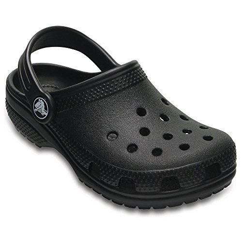 Crocs Kids Classic Clogs, Black 10 by Crocs