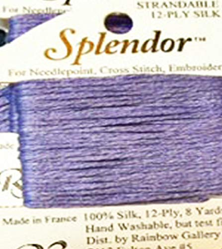 (SPLENDOR SILK THREAD-COLOR S882-LITE PERIWINKLE-1 CARD IN THIS OFFER)
